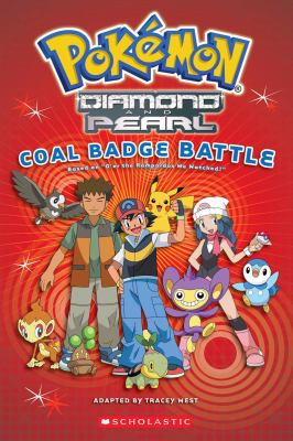 Pokémon : Diamond and Pearl. Coal badge battle /