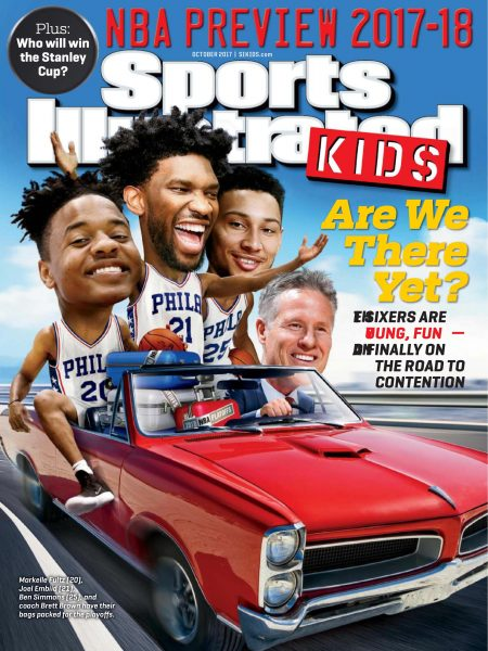 Sports Illustrated Kids: magazine. : NBA preview 2017-2018
